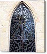The Little Church Window Canvas Print