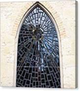 The Little Church Window Canvas Print
