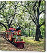 The Little Engine That Could - City Park New Orleans Canvas Print