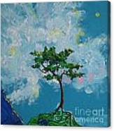 The Little Grove - Little Tree Canvas Print