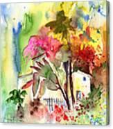 The Little House On The Prairie Canvas Print