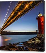 The Little Red Lighthouse Canvas Print