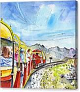 The Little Train Of Artouste Canvas Print