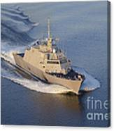The Littoral Combat Ship Canvas Print