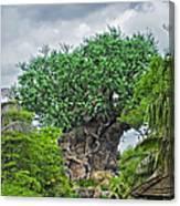 The Living Tree Walt Disney World Canvas Print