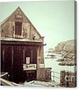 The Lizard Lifeboat Station Polpeor Cove Canvas Print