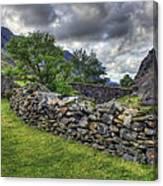 The Llanberis Pass Canvas Print