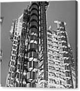 The Lloyd's Building - London Canvas Print