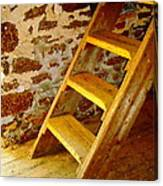 The Loft Steps Canvas Print