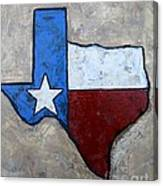 The Lone Star State Canvas Print
