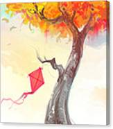 The Lonely Kite Canvas Print