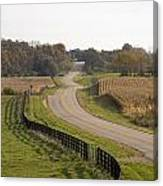The Long And Winding Road Canvas Print