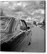 The Long Road Home - Ford Torino Cobra Jet Canvas Print