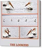 The Lookers Canvas Print