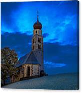 The Lord Is My Light - The Italian Dolomites Canvas Print