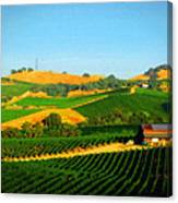 The Los Carneros District Canvas Print