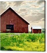 The Lost Barn Canvas Print