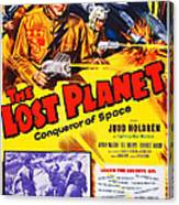 The Lost Planet, Top Right Judd Holdren Canvas Print
