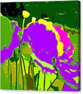 The Lotus Abstraction Canvas Print