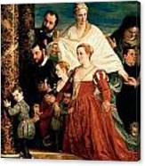 The Madonna Of The Cuccina Family Canvas Print