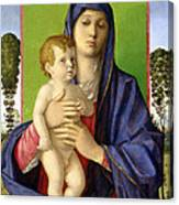 The Madonna Of The Trees Canvas Print