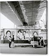 The Madras Street Canvas Print