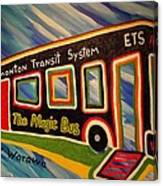 The Magic Bus Canvas Print