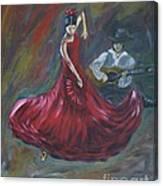 The Magic Of Dance Canvas Print