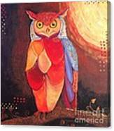 The Magical Mystical Owl Canvas Print