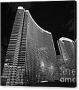 The Magnificent Aria Resort And Casino At Citycenter In Las Vegas Canvas Print