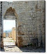 The Main Door To St.george Ruins Canvas Print
