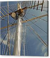 The Mainmast Of The Amazing Grace Canvas Print