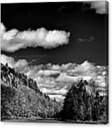 The Majestic Bald Mountain Pond  Canvas Print