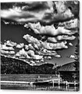 The Majestic Big Moose Lake Canvas Print