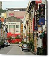 The Majestic Theater Chinatown Singapore Canvas Print