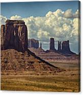 The Majesty Of Monument Valley  Canvas Print