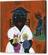 The Mammy Canvas Print