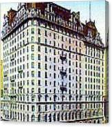 The Manhattan Hotel In New York City 1897 Canvas Print