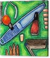 The Manicurist Canvas Print
