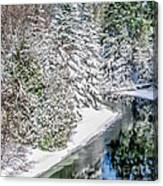 The Manistee River  Canvas Print