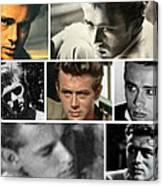 James Dean The Many Faces Canvas Print
