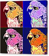 The Many Faces Of Taz Canvas Print