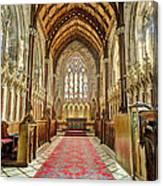 The Marble Church Interior Canvas Print