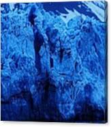 The Margerie Glacier 1 Canvas Print