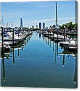 The Marina At The Golden Nugget Canvas Print