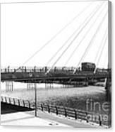The Marine Road Bridge Southport 2 Canvas Print
