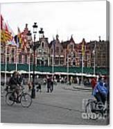 The Markt Bruges Belgium Canvas Print