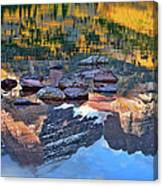 The Maroon Bells Reflected Canvas Print
