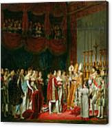 The Marriage Of Napoleon I 1769-1821 And Marie Louise 1791-1847 Archduchess Of Austria, 2nd April Canvas Print