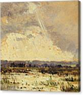 The Marsh In The Souterraine, 1842 Canvas Print